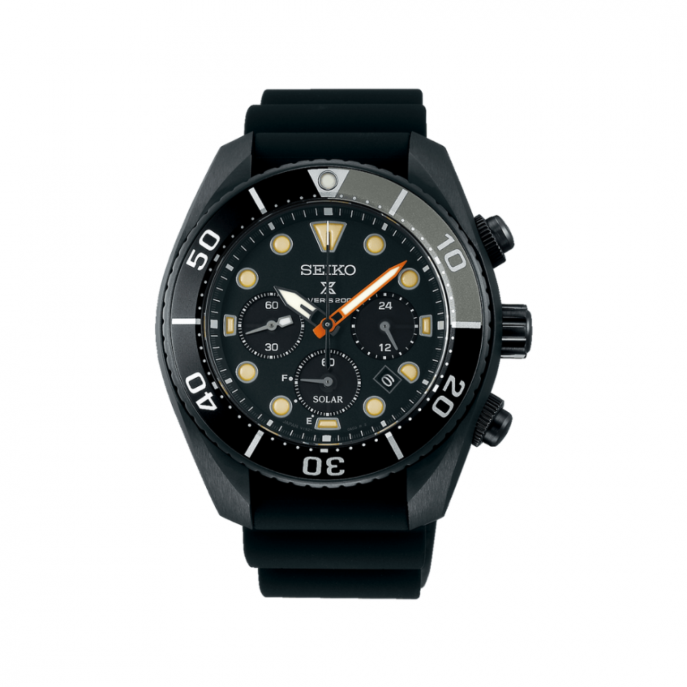 Bilde av SEIKO PROSPEX SOLAR BLACK SERIES LIMITED EDITION SSC761J1